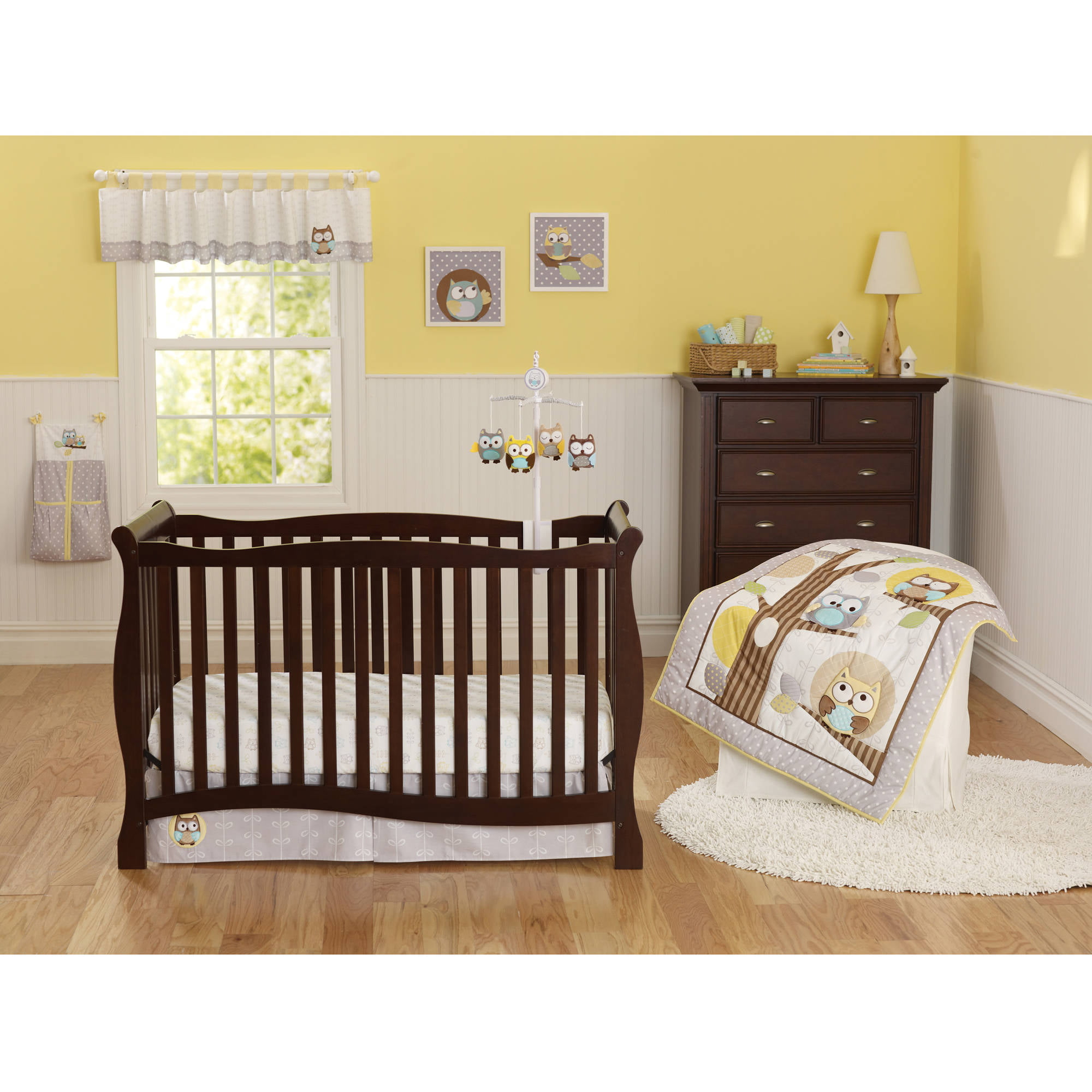 Child Of Mine By Carter S Treetop Friends 3 Piece Crib Bedding Set