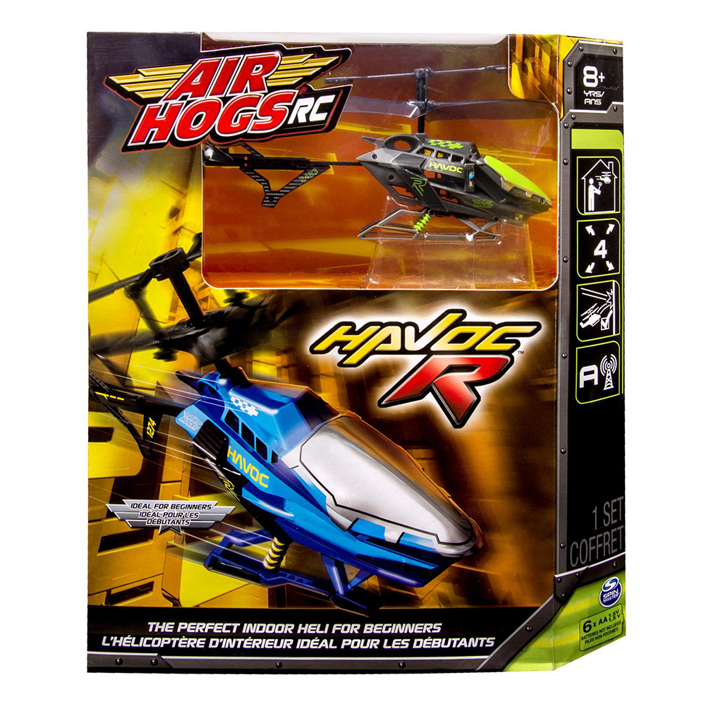 Air Hogs R C Havoc R Heli [Grey Channel C] by SpinMaster