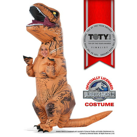 Kids Inflatable T-Rex Costume with - Wish Costumes