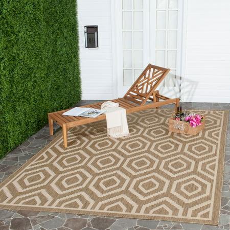 Safavieh Courtyard Amelia Geometric Indoor/Outdoor Area Rug ()