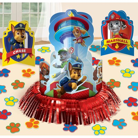 Paw Patrol Table Decorating Kit - Decorating For Chinese New Year