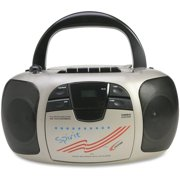 Califone International 1776 Spirit CD-Cassette-Radio Boom Box