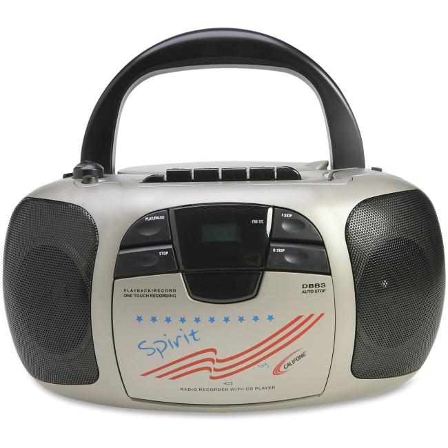 Califone Spirit Multimedia Player/Recorder By Ergoguys - LCD - CD-DA - 108MHz, 1710MHz