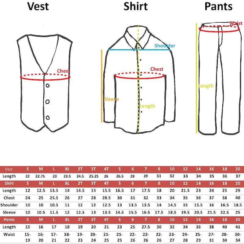 3pc Boy Suit Set Christmas Red Bow Tie Baby Toddler Kids Uniform Shirt Pants S-7