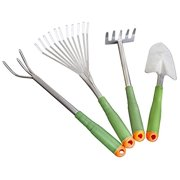 Gardening Tool Set - Light Duty For Women Seniors Arthritis with Extra Long Handles