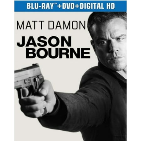 Jason Bourne (Blu Ray + DVD + Digital HD)
