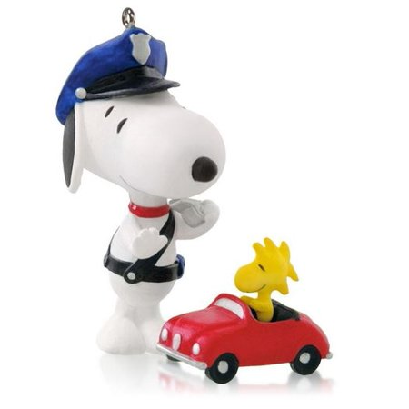 Hallmark Ornament 2014 Spotlight On Snoopy #17 - Police Officer