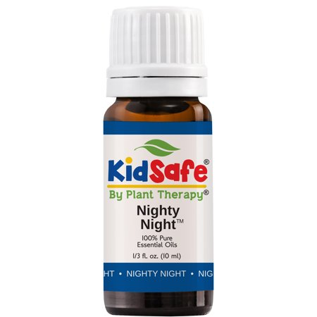 Synergy Pure Essential Oil - Plant Therapy Essential Oil | Nighty Night Synergy | 100% Pure, KidSafe, Undiluted, Therapeutic Grade | 10 mL (1/3 oz)