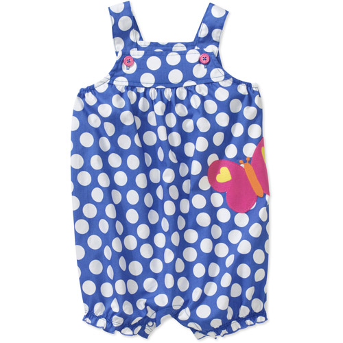 Child of Mine By Carters Newborn Girls' Dot Butterfly Romper