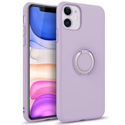 ZIZO REVOLVE Series for iPhone 11 Case - Ultra Thin Ring Holder, Kickstand, Built in Magnetic Mount Support - Ultra Violet