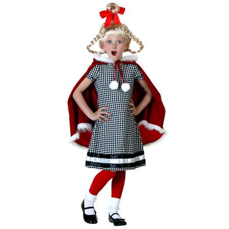 Christmas Girl Costume - Big Girl Costumes