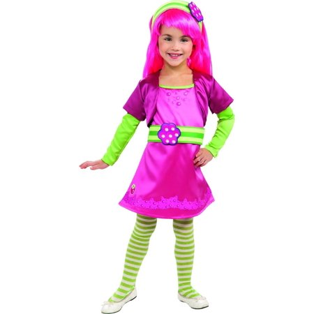 Strawberry Shortcake Deluxe Raspberry Tart Costume Child Toddler](Strawberry Shortcake Halloween Makeup)