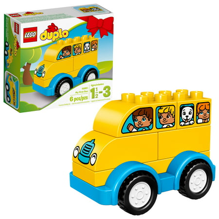 LEGO DUPLO My First Bus 10851 Building Set (6 Pieces)