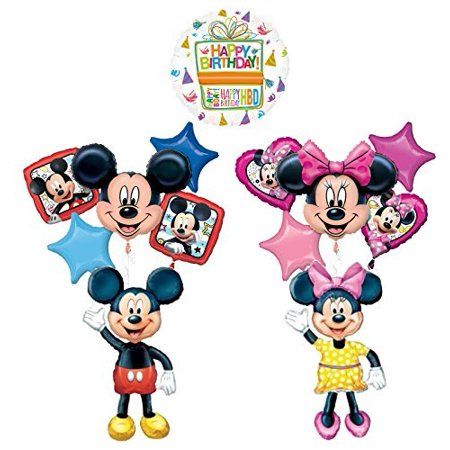 The Ultimate Mickey and Minnie Mouse Airwalker Birthday - Minnie And Mickey Party Supplies