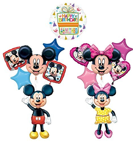 The Ultimate Mickey and Minnie Mouse Airwalker Birthday