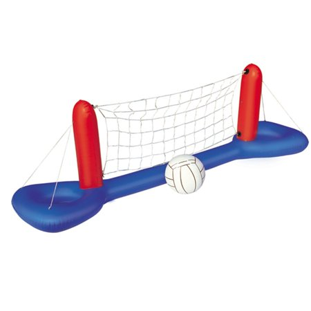 H2OGO! Inflatable Pool Volleyball Set, Includes 16 Inflatable Volleyball By Bestway Toys Domestic from (Best Way To Remove Makeup From Carpet)