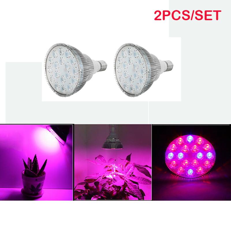 Beamnova 54W LED Plant Growing Lights, E27 LED Grow Light...