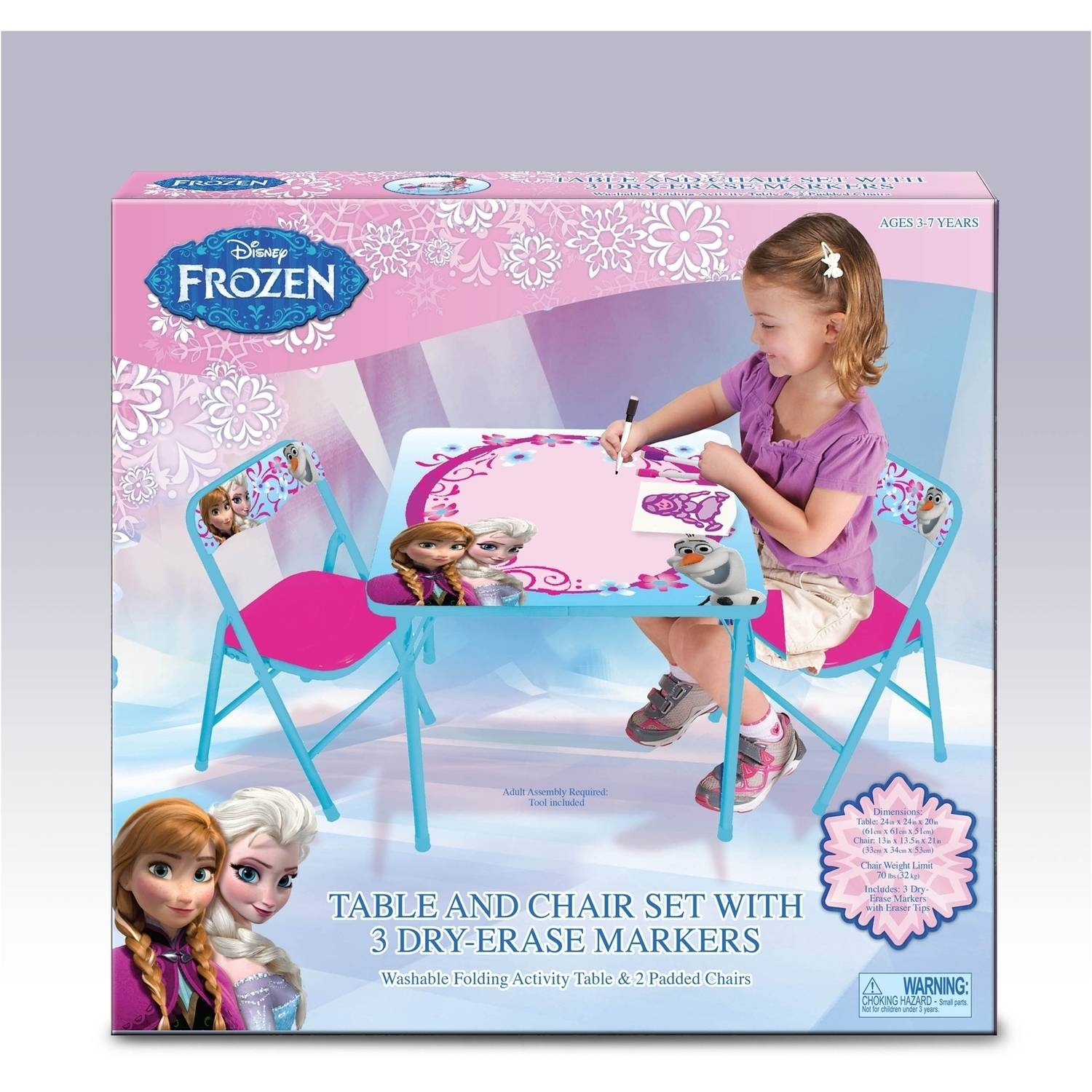 Frozen Table Set Amp Awesome Collection Of Meco Sudden Fort