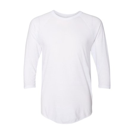 American Apparel T-Shirts 50/50 Three-Quarter Sleeve Raglan T-shirt BB453W All American Rejects Apparel