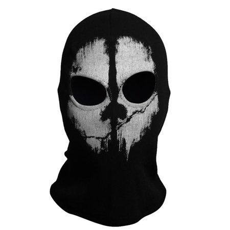 Fashion Cool Balaclava Hood Face Ghost Skull Mask Call Of Duty Biker Halloween Skateboard Cos (Superhero Balaclava)