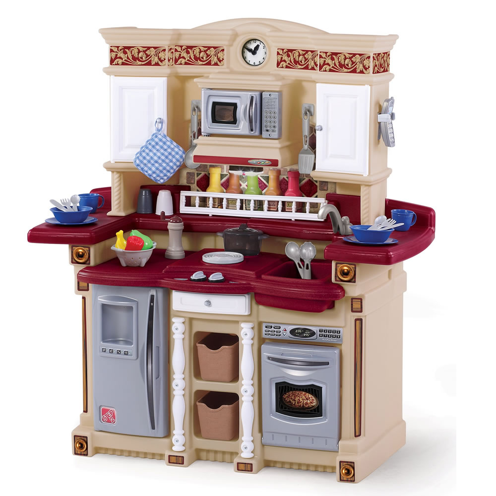 Step2 Classic Lifestyle Party Time Kitchen with 33 Cooking Accessories