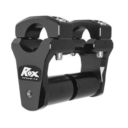 Rox Handlebar Risers (Rox Speed FX 1R-P2PPS10K 2in. Pivoting Risers for 1 1/8in. Handlebars -)