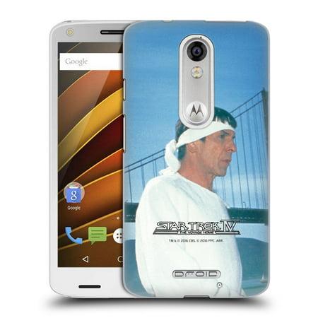 Official Star Trek Spock The Voyage Home Tos Hard Back Case For Motorola Phones 1