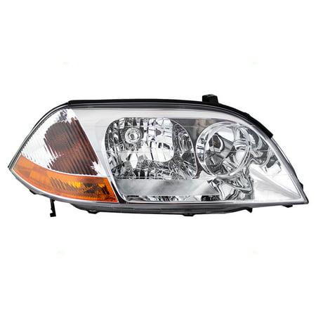 BROCK Headlight Headlamp Passenger Replacement for 01-03 Acura MDX 33101S3VA01 (Acura Mdx Headlamp)