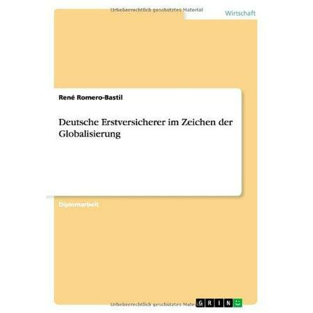 Deutsche Erstversicherer Im Zeichen Der Globalisierung