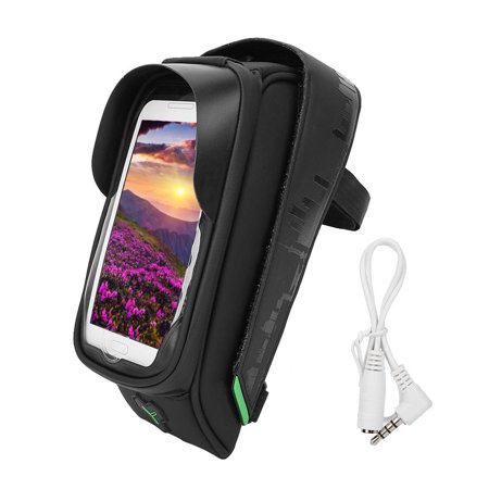 Ejoyous Bike Phone Holder, Waterproof Bike Bag,Bike Motorbike Handlebar Mount Holder Waterproof Bag Case for Phone GPS - image 8 of 8