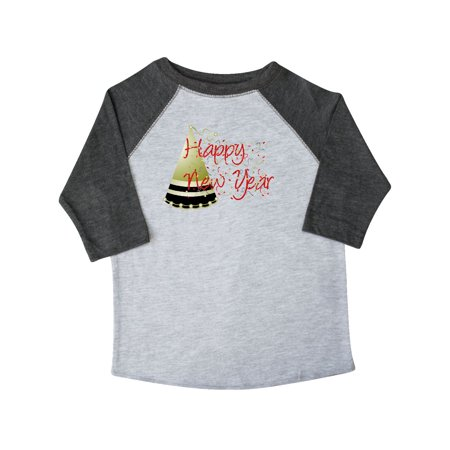 3c0703b9e Inktastic - Happy New Year Toddler T-Shirt - Walmart.com