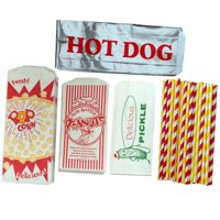 Ultimate Carnival Party Kit - Hot Dog, Peanut, Popcorn , Pickle