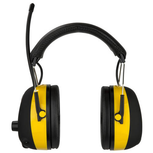 3M WorkTunes Hearing Protector, MP3 Compatible with AM/FM Tuner, 90541-4DC