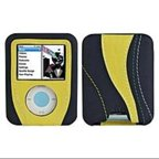 Speck Runner Techstyle NN3-YEL-RUN MP3 Player Case for Nano 3G - Yellow