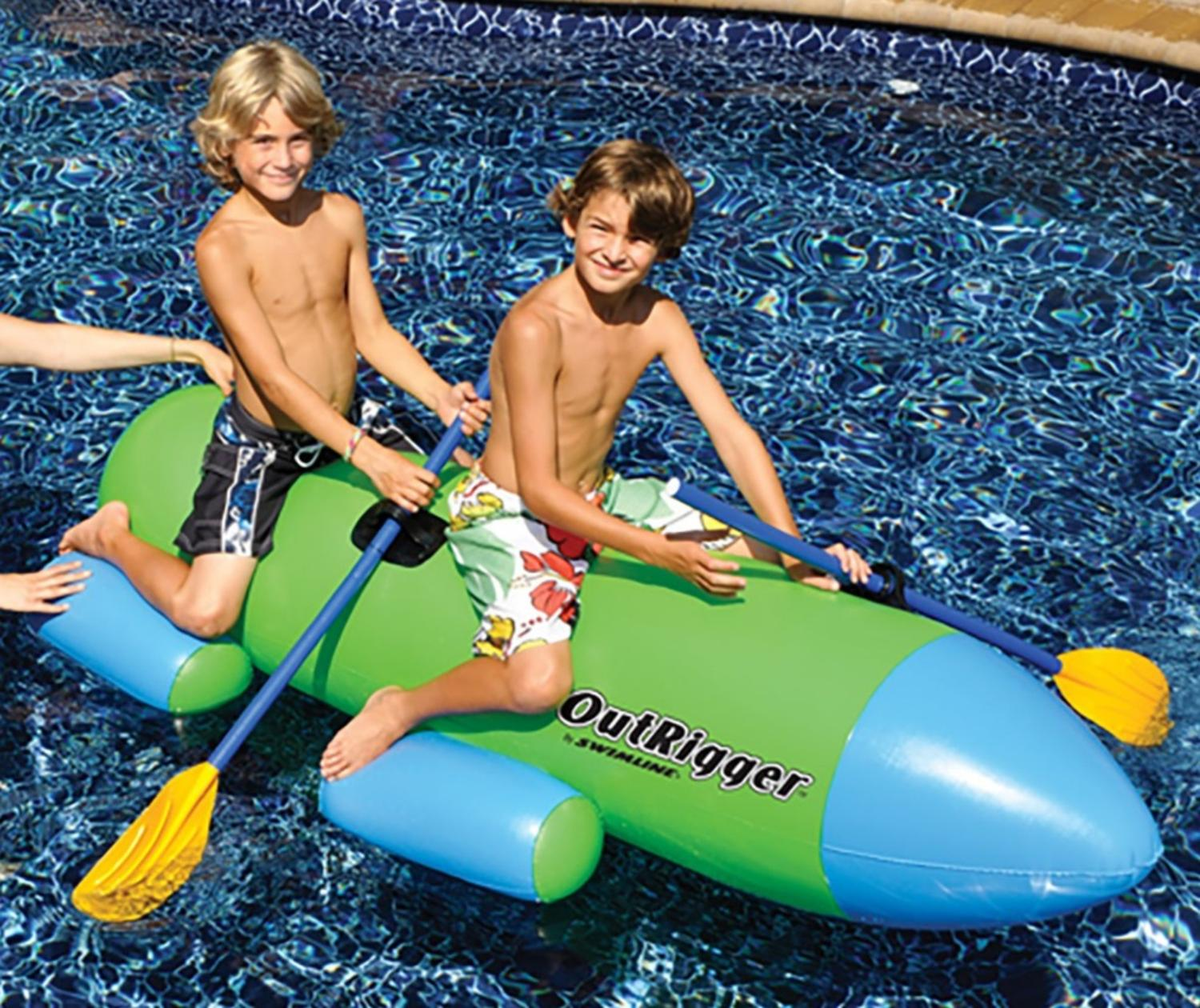 Outrigger Pool Float Inflatable Pool Toy by Swim Central