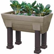 Garden Wizard Elevated Garden Complete, Khaki