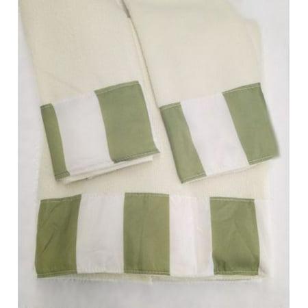 Elegant Design 3-Piece Decorative Bath Hand Towel Set ...