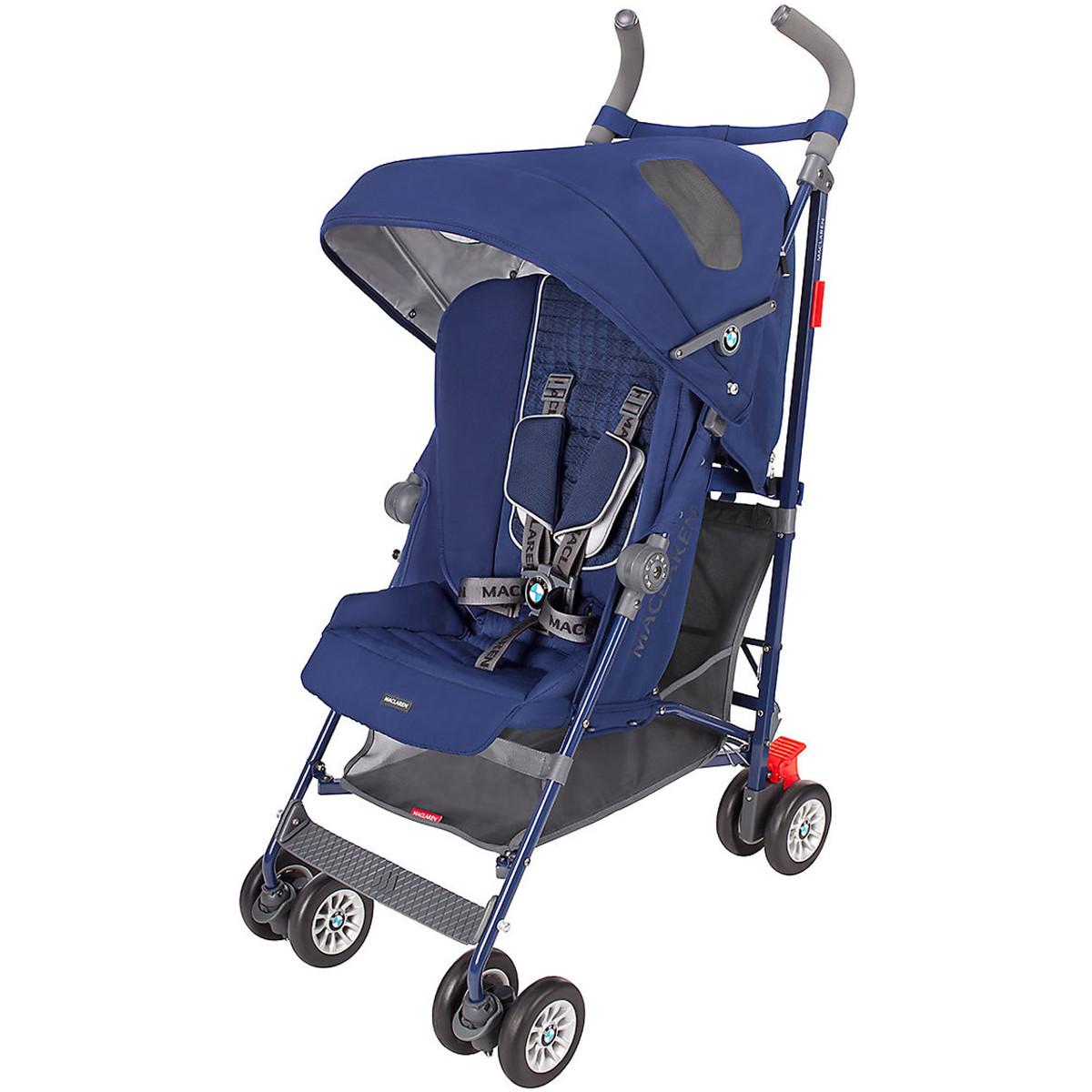 Maclaren BMW Buggy Stroller - Medieval Blue
