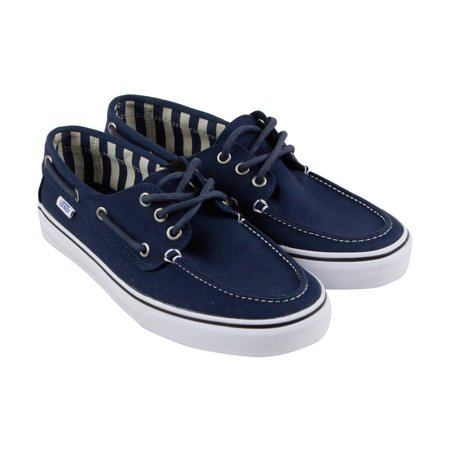 vans  vans chauffeur sf mens blue canvas casual dress