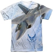 Air Force Fly By Mens Sublimation Polyester Shirt