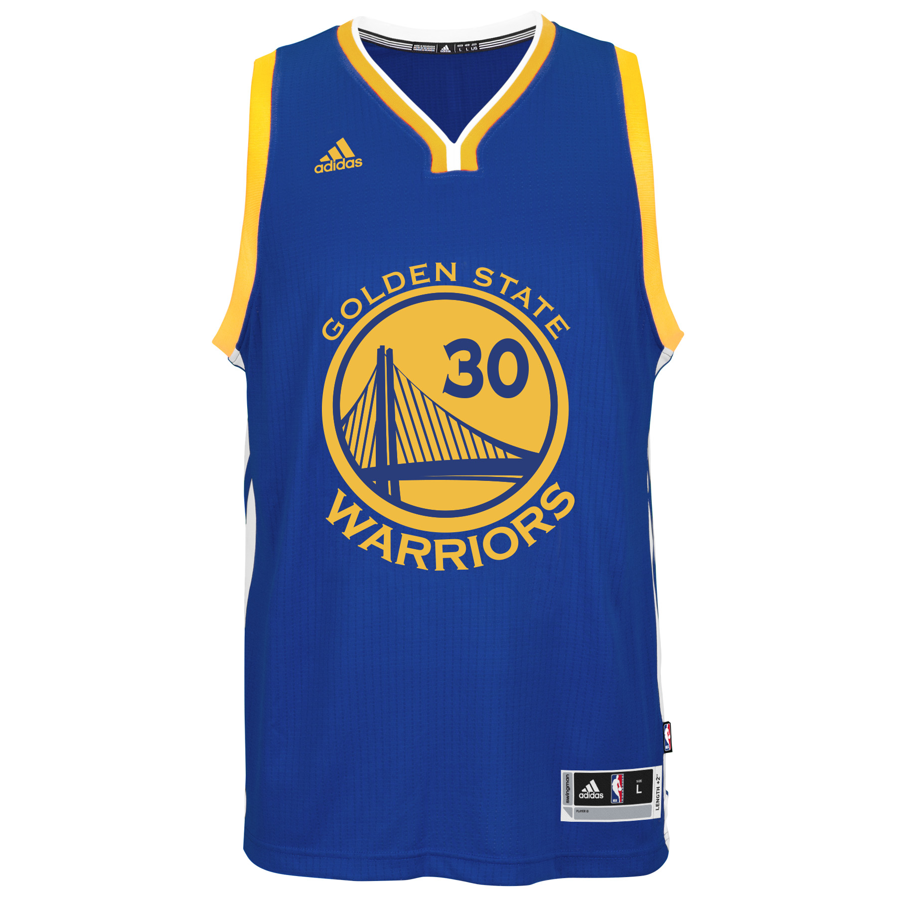 Stephen Curry Golden State Warriors Adidas NBA Swingman Jersey - Blue