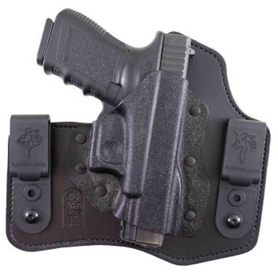 Desantis Intruder Inside The Pant Holster, Fits Glock 43, Right Hand, Leather & Black Kydex 105KA8BZ0 by Desantis