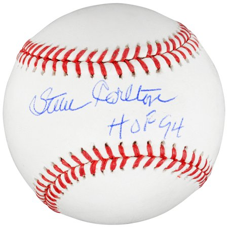 (Steve Carlton Phillies Signed Baseball with HOF 94 Insc - Fanatics)
