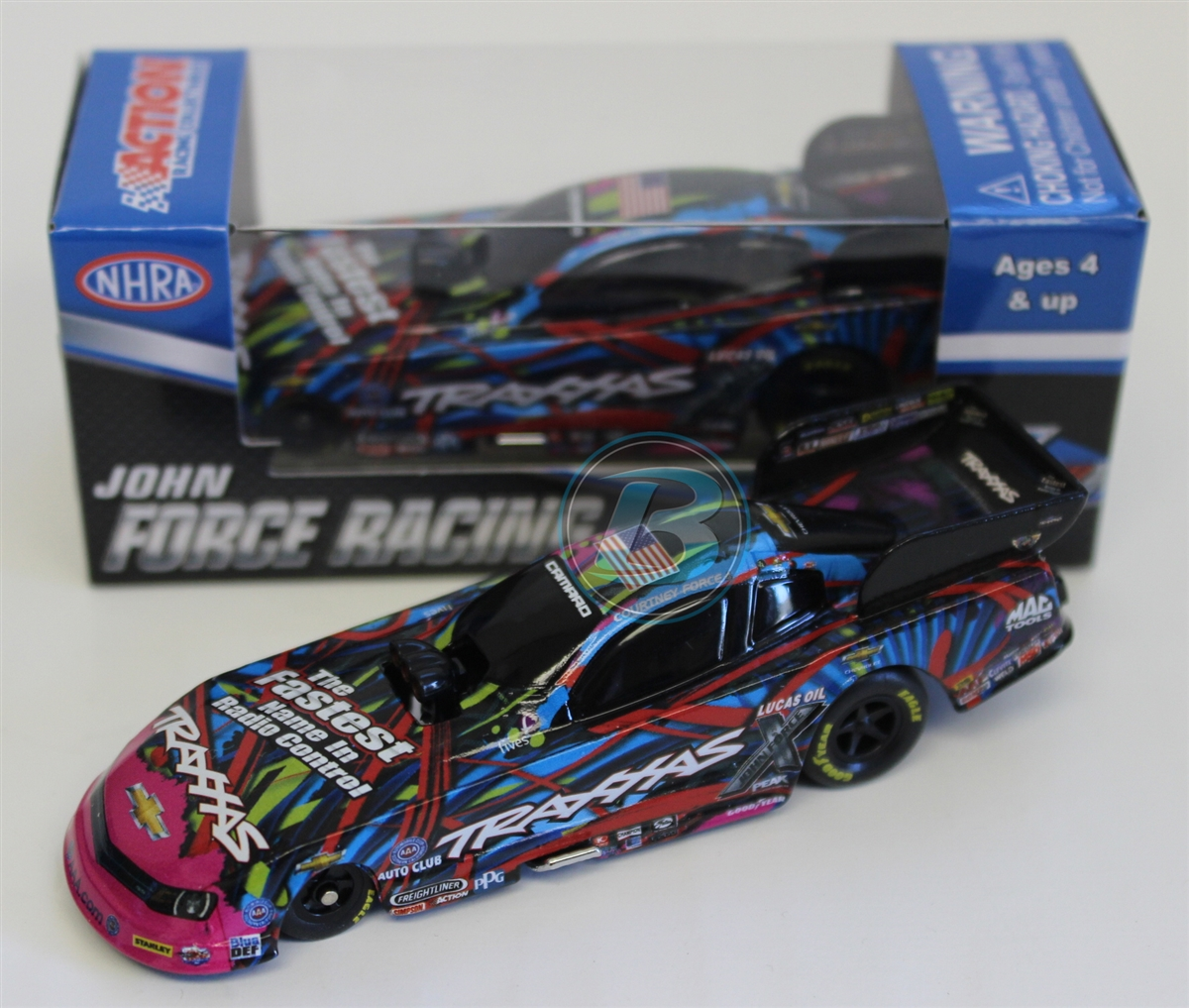 Courtney Force 2015 Traxxas 1:64 NHRA Diecast by Lionel Racing