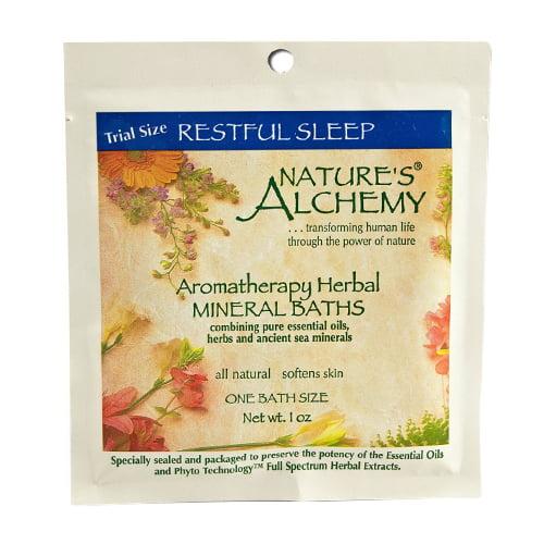 Natures alchemy Aromatherapy Bath Restful Sleep, 1 oz