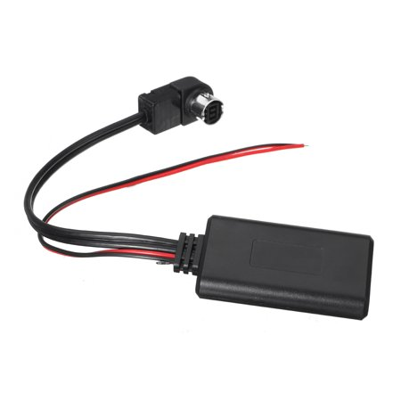 Car Black bluetooth Aux Audio Cable Adapter For Alpine KCA-121B AI-NET iPod iPhone