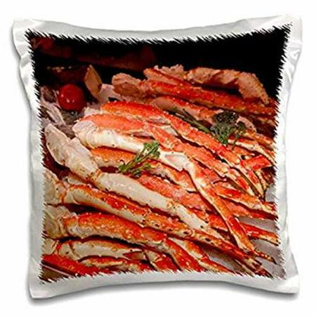 3dRose USA, Massachusetts, Boston, Market King crab legs - US22 JEN0084 - Jim Engelbrecht, Pillow Case, 16 by