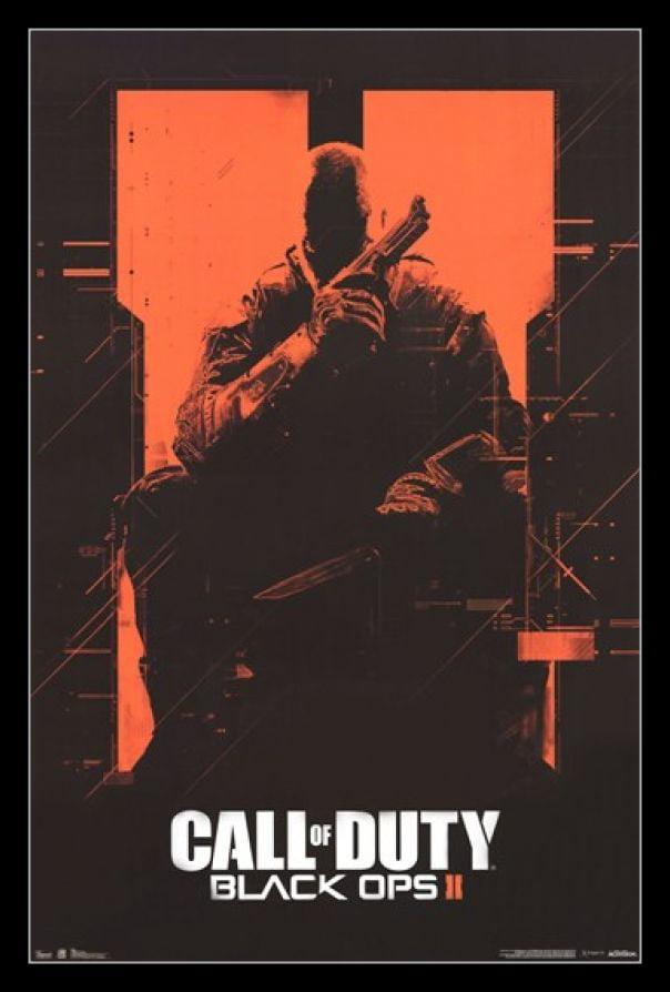 Call Of Duty Black Ops Ii Orange Poster Print Walmart Com Walmart Com