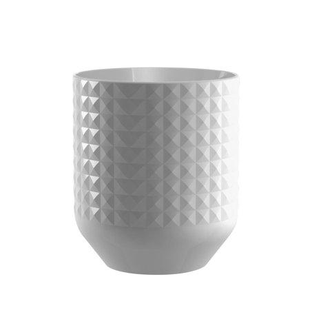 Diamond Ceramic Utensil Crock, 2 Canisters