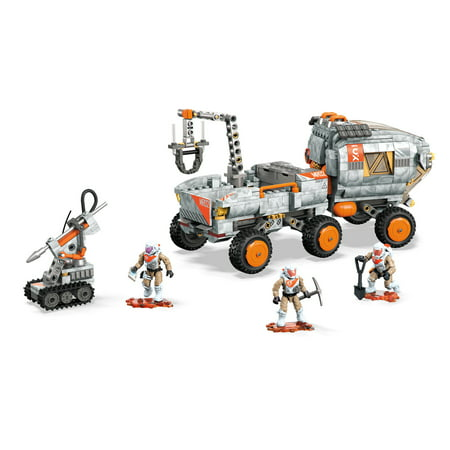 Mega Construx Probuilder Space Rover Expedition Building Set